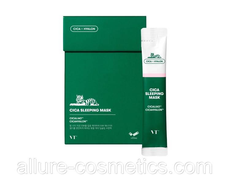 Нічна маска для проблемної шкіри VT Cosmetics Cica Sleeping Mask