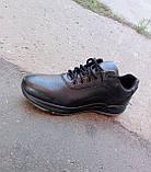 Кросівки чорні чоловічі шкіряні Ессо 40 -45 р-р, фото 6
