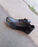 Кросівки чорні чоловічі шкіряні Ессо 40 -45 р-р, фото 7
