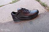 Кросівки чорні чоловічі шкіряні Ессо 40 -45 р-р, фото 9