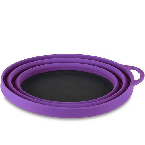 Миска Lifeventure Silicone Ellipse Bowl Фіолетовий, фото 2