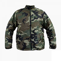 Термо-куртка Mil-TEC двухсторонняя WDL/Black, фото 1