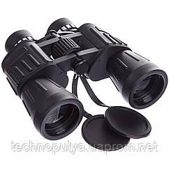 Бінокль BUSHNELL 7х50 TY-1648 (пластик, скло, PVC-чохол) 50CT Чорний (PT0013)