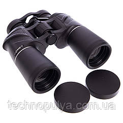 Бінокль COMET 20х50 TY-4325 (пластик, скло, PVC-чохол, h x l-18см х 19,5 см,чорний) (AX14, 7х50) (PT0022)