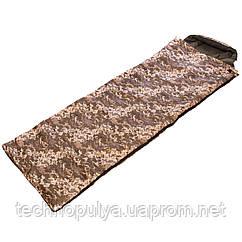 Спальний мішок-ковдра з капюшоном камуфляж UR SY-4083 NE-S-1276 (PT0239)