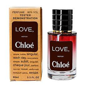 Chloe Love TESTER LUX, женский, 60 мл