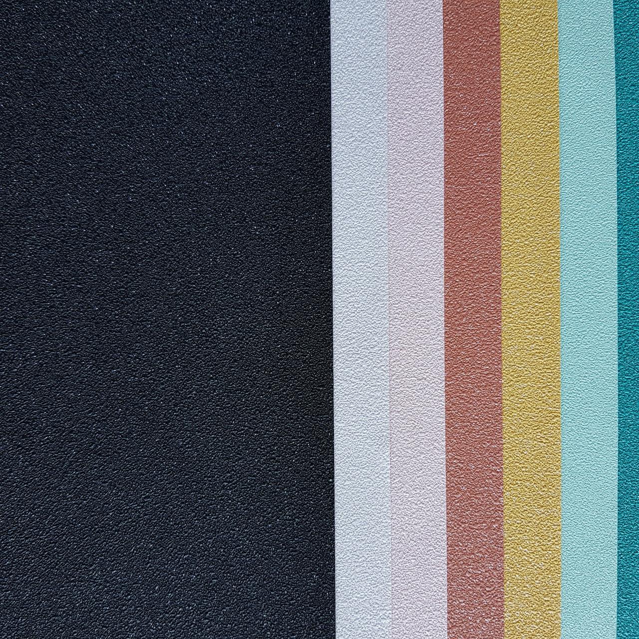 Обои виниловые на флизелине Erismann Brilliant colours 0.53x10 однотонные черные серебристые точки