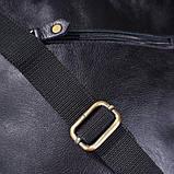Чоловіча шкіряна сумка SHVIGEL 19111 Чорна, фото 2