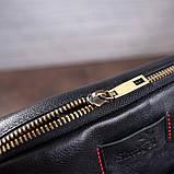 Чоловіча шкіряна сумка SHVIGEL 19111 Чорна, фото 4