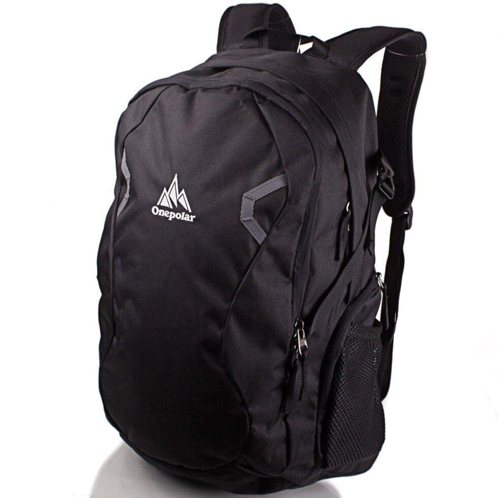 Рюкзак городской Onepolar Мужской рюкзак ONEPOLAR (ВАНПОЛАР) W1731-black