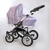 Универсальная москитная сетка для коляски и кроватки 0312 (цвета — в ассортименте), Baby Breeze
