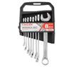 Набір ключів комбінованих CARLIFE CR-V, 8шт., 8-19 мм, уп. пластик (20)