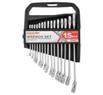Набір ключів комбінованих CARLIFE CR-V, 15шт., 6-22 мм, уп. пластик (10)