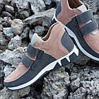 Ортопедичні кросівки для дівчаток МОДЕНА 898 бордові, фото 4
