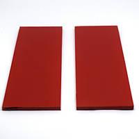 Накладки G10 для рукояті ножа Red (червоний) 125х40х3мм (пара)