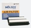Фільтр повітр. Molder LF717 (WA6250, LX827, C2229, AP082/1)
