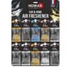 Автомобільний ароматизатор повітря Nowax X Bag DELUXE, дисплей (30шт.)