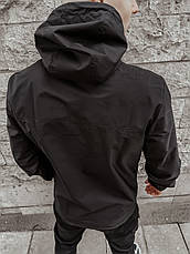 "Размеры S-2XL | Мужская куртка анорак Intruder ""Segment 19"" Black, фото 2"