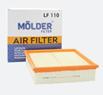 Фільтр повітр. Molder LF110 (WA6168, LX220, С22117, AP006)