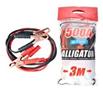 Провода-прикурювачі 500А, 3м, поліетиленовий пакет (15 шт/ящ)