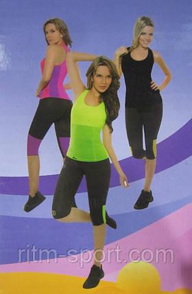 Рожева Майка для фітнесу (схуднення) HOT SHAPERS, фото 2