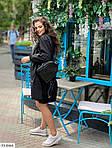 Жіноче коттоновое однотонне плаття (Батал), фото 5