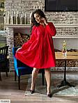 Жіноче коттоновое однотонне плаття (Батал), фото 7