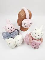 Детские меховые наушники для девочек оптом, фото 1
