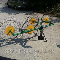 Сеноворошилка – Грабарка «Грабли Солнышко» Украина. Спицы 4мм.
