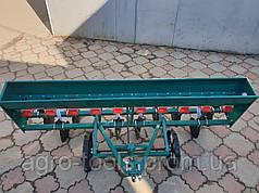 Сеялка зерновая дисковая на 10  рядов для мотоблока или мототрактора
