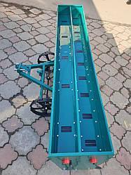Сеялка зерновая дисковая на 15  рядов для мотоблока или мототрактора