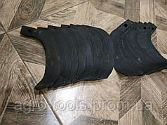 Ножи для почвофрезы R175 / 180N / 190N / 195NM ( 9 правый + 9 левый) - 18шт( комплект) мотоблоков