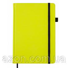 Блокнот Buromax деловой Bright A5 черную бумагу без линования 96 листов обло (BM.295401-08)