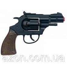 Іграшкова зброя Gonher Револьвер поліцейський 12-зарядний (38/6)