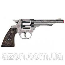 Іграшкова зброя Gonher Револьвер Ковбойський 8 зарядний (80/0)