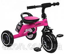 Велосипед триколісний M 3648-M-1, малиновий