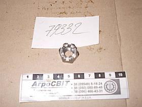 Гайка корончатая М10х1,25; стандарт ГОСТ 5918-70, класс прочности 6.8