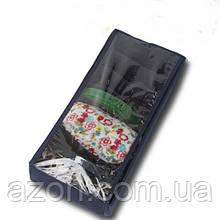 Коробочка для носочков с крышкой Джинс