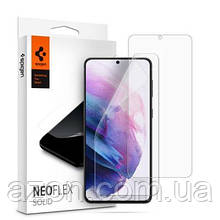 Пленка защитная Spigen Galaxy S21 NeoFlex Solid HD, Clear (AFL02557)