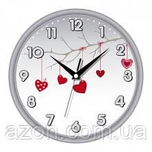 Настенные Часы Сlassic День Святого Валентина Grey