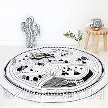 Ковдра килимок в дитячу кімнату Вігвами