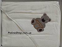 """Детское полотенце уголок для купания PHILIPPUS """"Мишка"""""""