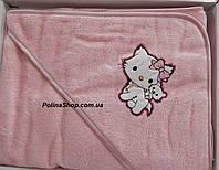 """Детское полотенце уголок для купания PHILIPPUS """"Hello Kitty"""""""