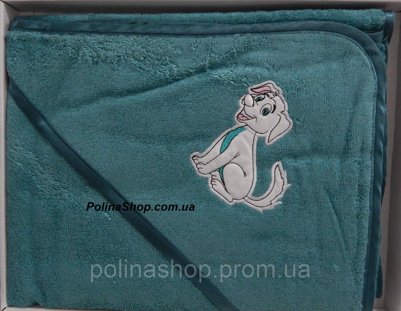 """Дитячий рушник куточок для купання PHILIPPUS """"Собачка"""""""