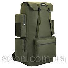 Рюкзак туристичний xs130l, 130 л, зелений