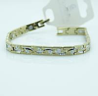 Мужские двухцветные браслеты оптом. Магнитные браслеты из стали оптом и в розницу. 103