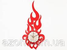 Настенные Часы Большое Пламя
