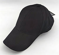 Кепка бейсболка мужская Atrics 54-58 размер катоновая черная (ББ201), фото 1