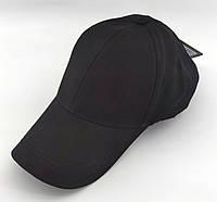 Кепка бейсболка чоловіча Atrics 56-59 розмір катоновая чорна (ББ177), фото 1