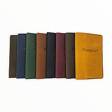 Кожаная обложка на паспорт, фото 3
